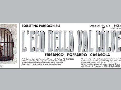 L'Eco della Val Còlvera – dicembre 2019