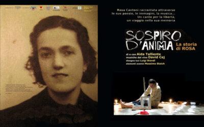 SOSPIRO D'ANIMA di e con Aida Talliende