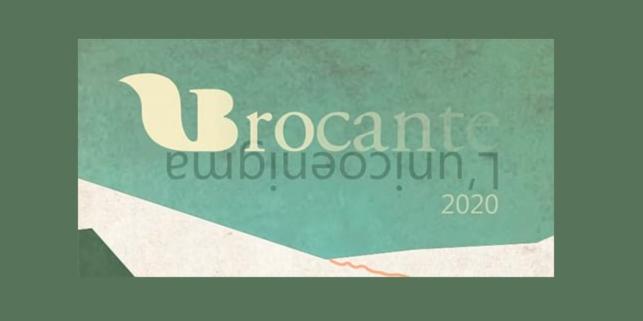 L'UNICOENIGMA il tema di Brocante 2020